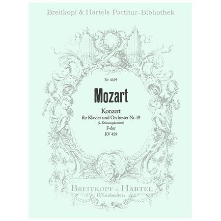 Mozart, W. A.: Klavierkonzert Nr. 19 F-Dur KV 459