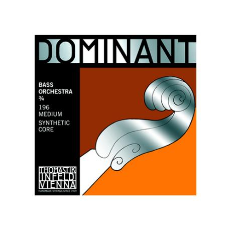 THOMASTIK Dominant bass strings SET