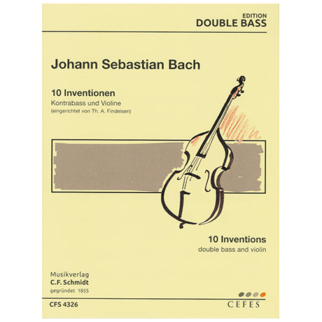 Bach, J. S.: 10 Inventionen (aus BWV 722-801)