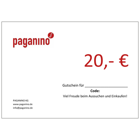 Gift certificate 20,- EUR