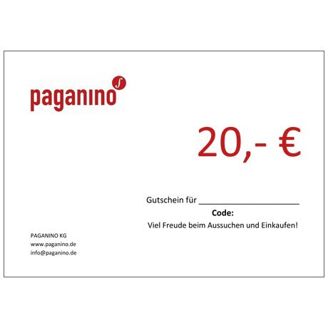 Gift certificate 20,- EUR