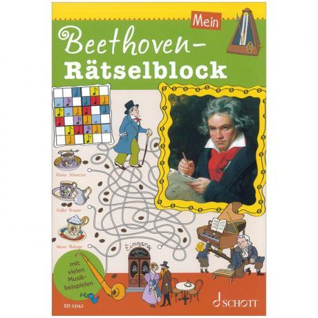 Mein Beethoven-Rätselblock (+Online Audio)