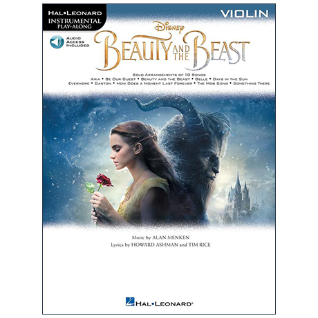 Beauty and the Beast for Violin (+ Online Audio)