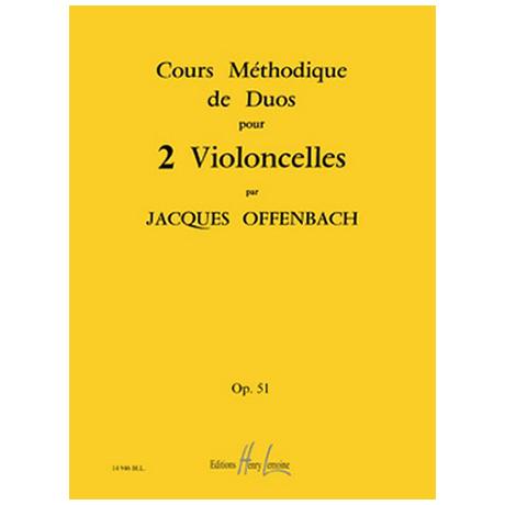 Offenbach, J.: Cours Méthodique Op. 51