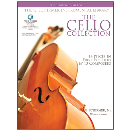 The Cello Collection easy to intermediate level (+Online Audio)