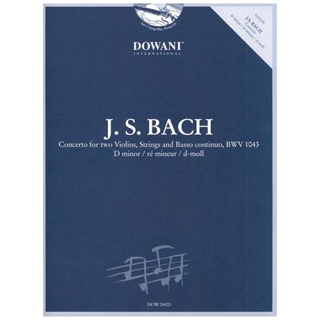 Bach, J. S.: Doppelkonzert BWV 1043 d-Moll (+CD)