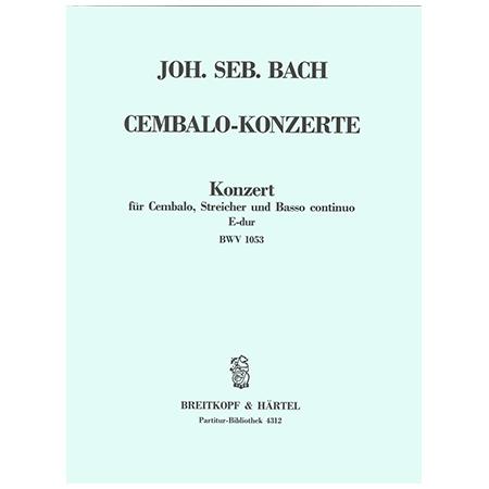 Bach, J. S.: Cembalokonzert D-Dur BWV 1054