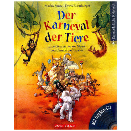 Der Karneval der Tiere (+CD)