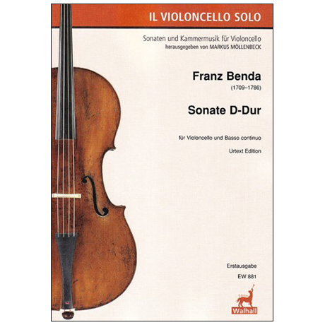 Benda, F.: Violoncellosonate D-Dur