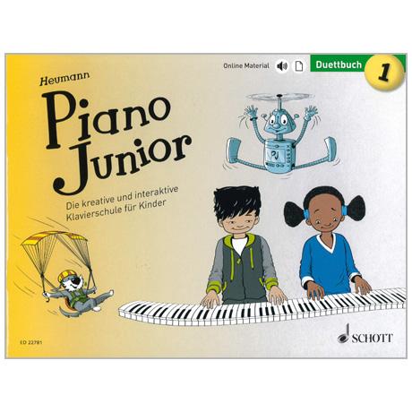 Heumann, H.-G.: Piano Junior – Duettbuch Band 1 (+Online Material)