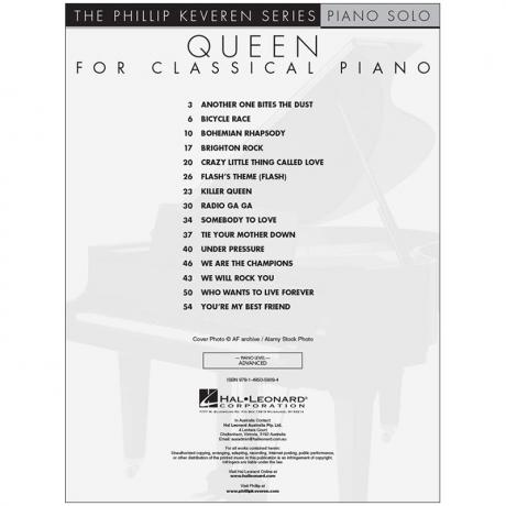 Queen for Classical Piano