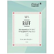 Raff, J.: Streichquartett Nr. 1 Op. 77 d-Moll