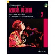 Moser, J.: Rock Piano Band 2 (+CD)