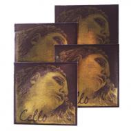 EVAH PIRAZZI GOLD cello string SET by Pirastro