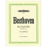 Beethoven, L. v.: Romanzen für Violine und Orchester Op. 40 G-Dur - Op. 50 F-Dur