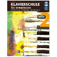 Alfred's Klavierschule für Erwachsene Band 2 (+CD)
