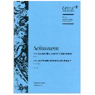 Schumann, R.: Ouvertüre, Scherzo und Finale Op. 52 E-Dur