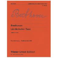 Beethoven, L.v.: Ländlerischer Tanz