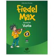 Holzer-Rhomberg, A.: Fiedel-Max für Viola Schule 2 (+ Online Audio)