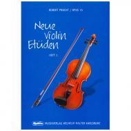 Pracht, R.: Neue Violin-Etüden Op. 15 Band 1