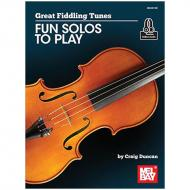 Duncan, C.: Great Fiddling Tunes – Fun Solos to Play (+Online Audio)