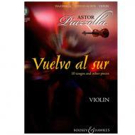 Piazzolla, A.: Vuelvo al sur (+CD)