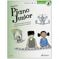 Heumann, H.-G.: Piano Junior –  Duet Book 3 (+ Online Audio)