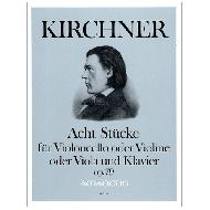 Kirchner, Th.: 8 Stücke Op. 79