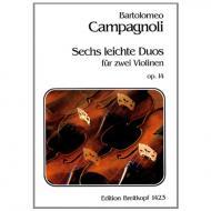 Campagnoli, B.: 6 leichte Duos Op. 14