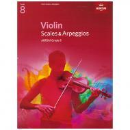 ABRSM: Violin Scales And Arpeggios – Grade 8