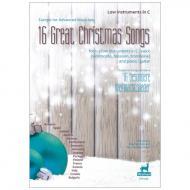 Europa für Fortgeschrittene - 16 besondere Weihnachtslieder für tiefe Instrumente in C