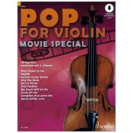 Pop for Violin - Movie Spezial (+ Online Audio)