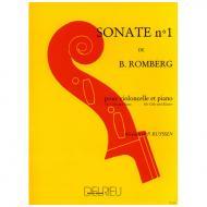 Romberg, B.: Sonate B-Dur Nr. 1 – 1. Satz