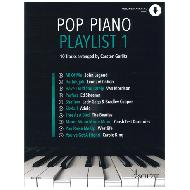Gerlitz, C.: Pop Piano Playlist 1 (+Online Audio)