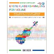 Capellari, A.: Erste Klassiksammlung für Violine (+Online Audio)