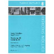 Prokofjew, S.: Sonate op. 80