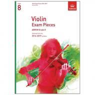 ABRSM: Violin Exam Pieces Grade 8 (2016-2019)