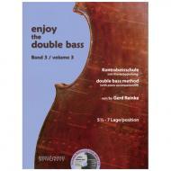 Reinke, G.: Enjoy the double bass Band 3 (+CD)