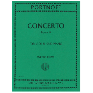 Portnoff, L.: Violinkonzert Op. 8 g-Moll