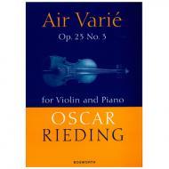 Rieding, O.: Air varie Op. 23 Nr. 3