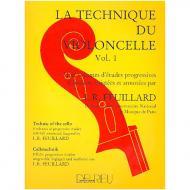 Feuillard, L.R.: La technique du violoncelliste Band 1