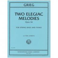 Grieg, E. H.: 2 Elegische Melodien Op. 34