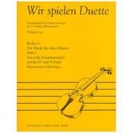 Lutz, W.: Wir spielen Duette Reihe A Band 1