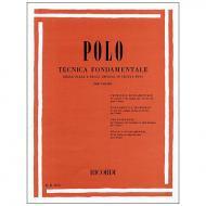 Polo, E.: Tecnica fondamentale delle scale e degli arpeggi in tutti i toni
