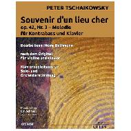 Tchaikovsky, P.: Souvenir d'un lieu cher Op. 42 Nr. 3 Melodie