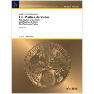 Crickboom, M.: Les Maîtres du Violon Vol. 10