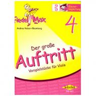 Holzer-Rhomberg, A.: Fiedel-Max. Der große Auftritt 4 für Viola – Klavierbegleitung