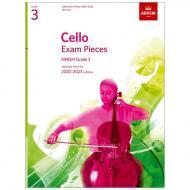 ABRSM: Cello Exam Pieces Grade 3 (2020-2023)