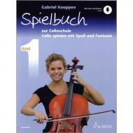 Koeppen, G.: Cello spielen mit Spaß und Fantasie Band 1  (+Online Audio) - Spielbuch
