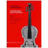 Galamian, I.: Contemporary violin technique Vol. 1 - Parts 1 + 2